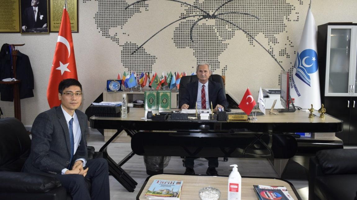 Kazakistan Ankara Büyükelçiliğinden Okulumuza Ziyaret